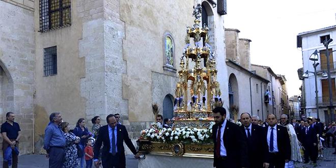 Cocentaina celebra la tradicional fiesta del Corpus Christi