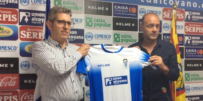 Vicente Mir ya es el nuevo entrenador del Alcoyano