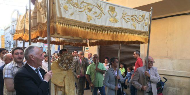 Muro celebra el Corpus una semana después de la Fiesta