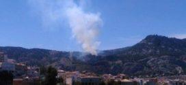 Controlado un incendio en la zona del Preventorio de Alcoy