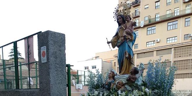Los Salesianos de Alcoy celebran la Fiesta de María Auxiliadora