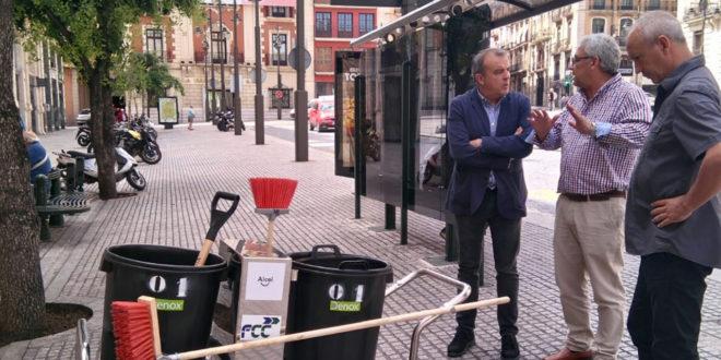 El servicio de limpieza llega a las urbanizaciones de Alcoy