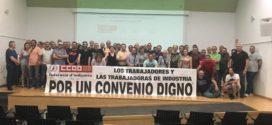 CCOO irá a la huelga si no hay avances en el convenio del textil