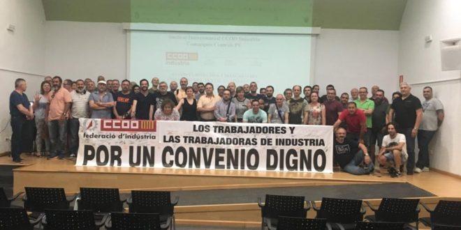 CCOO insta a la huelga por falta de acuerdo en el convenio del textil