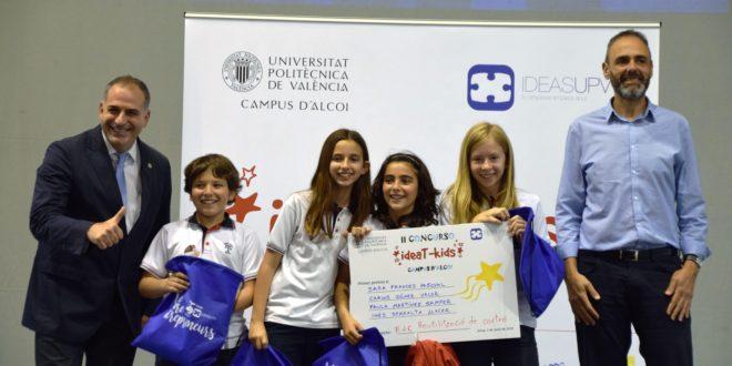 Celebrada la segunda edición del concurso ideaT- kids