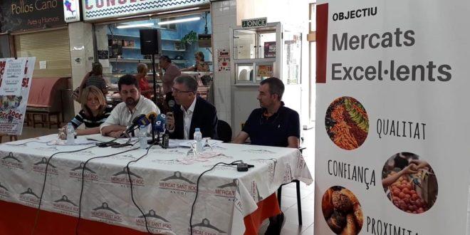 Economía presenta en Alcoy el distintivo de 'Mercados Excelentes'