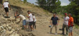 Las excavaciones del Castellar sacan a la luz la muralla del antiguo Al-Qūy