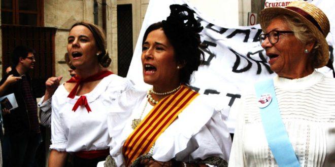 Manifestación Sufragista Alcoy