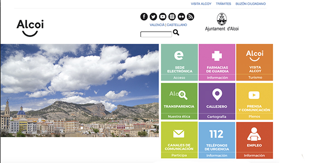 Web Municipal Alcoy