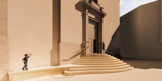 Banyeres escoge proyecto para la reforma de la escalera de la iglesia