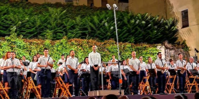 La Unión Musical Contestana sella con éxito la Semana Festera de Cocentaina