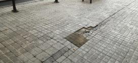 Ciudadanos insiste en el mantenimiento de las calles de Alcoy