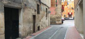 Finalizadas las obras de reurbanización de la calle Sant Cristòfol de Cocentaina