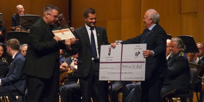 Verge de la Pau de Agost gana el II 'Premi Sant Jordi' de música festera