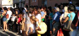 El Bracal de Muro protesta por los once años en barracones