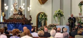El Pregón proclama la Fiesta de la Virgen de los Lirios