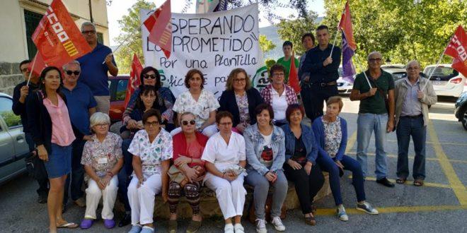 Los trabajadores del Preventorio retoman las protestas