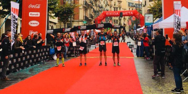 Más de 1.800 participantes se dan cita en el Trail Solidari Ciutat d'Alcoi