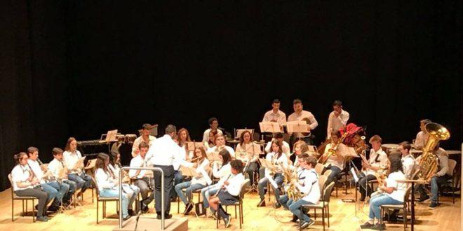 El Ateneu Musical de Cocentaina celebró su tradicional concierto de Fira