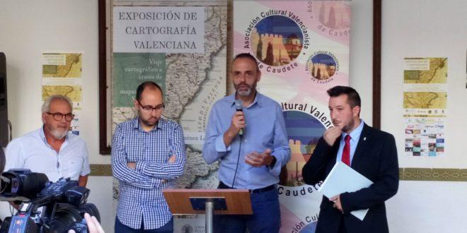 El Campus expone en Caudete una muestra de cartografía valenciana