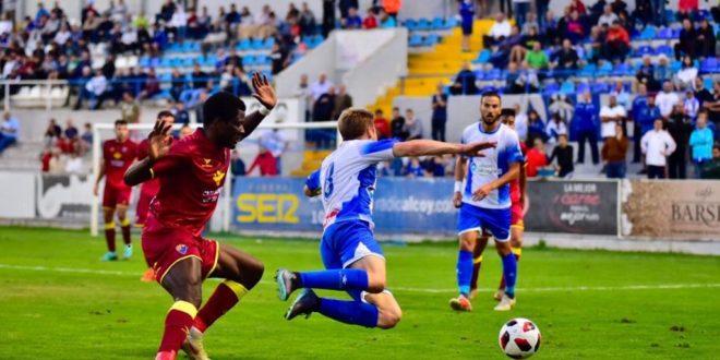 Alcoyano y CD Teruel empatan 1-1 en El Collao