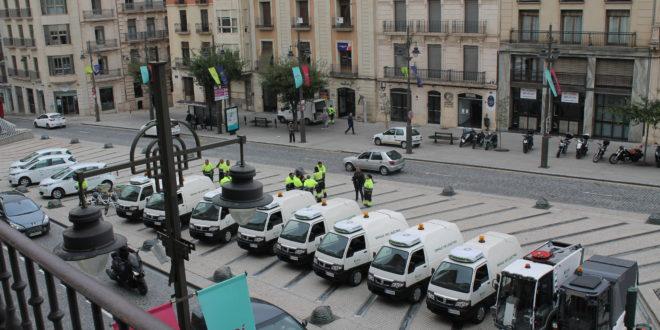 Polémica por la cesión de la maquinaria de limpieza de Alcoy a Cocentaina