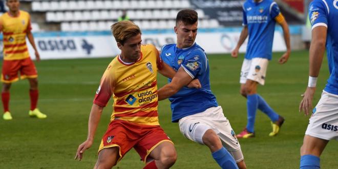 El Alcoyano no pudo hacer frente al Lleida y cayó por 2-0