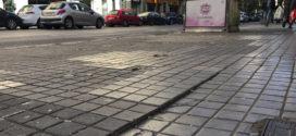 El PP denuncia el mal estado de las aceras en la Avenida Camilo Sesto