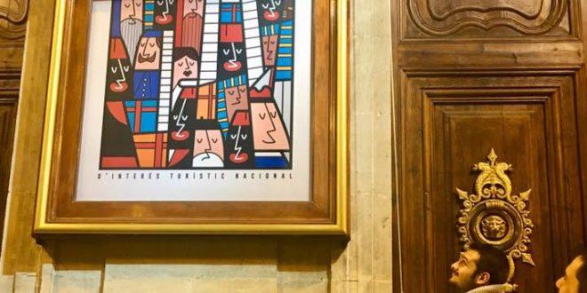 El cartel de Hazael Rico ya anuncia la llegada de la Cabalgata de Alcoy