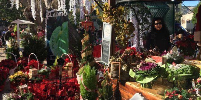 El 'Mercat de Nadal' ya funciona a pleno rendimiento en La Glorieta
