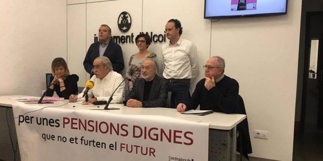 Llamamiento a la movilización para reivindicar unas pensiones dignas