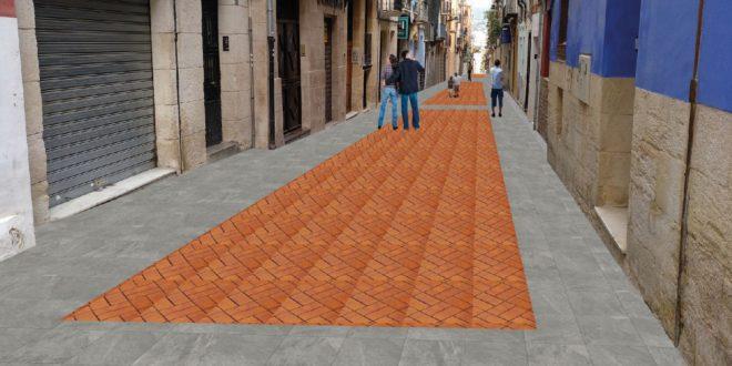 Las obras de la calle Sant Francesc comenzarán antes del verano