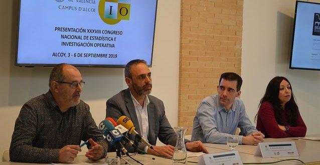 Alcoy acogerá el Congreso Nacional de Estadística e Investigación