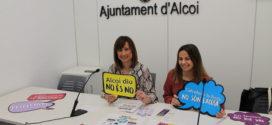Alcoy vuelve a lanzar una nueva campaña contra las agresiones sexistas en Fiestas