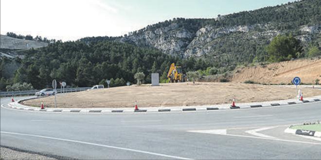 Arrancan los trabajos para acondicionar la rotonda de acceso a la Autovía