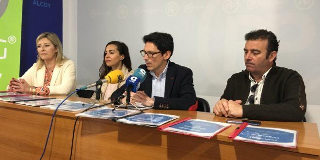 El PP propone bajar el IBI al 0,95% y rebajar impuestos a las empresas que contraten