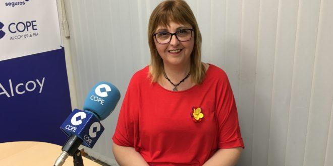 Eli Aleix es la alcaldable de Unides Podem-Esquerra Unida en Cocentaina