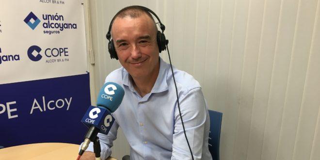 Juan José Moncunill está al frente de la candidatura de Ciudadanos en Cocentaina