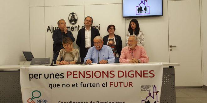 La Plataforma en Defensa de las Pensiones Públicas se desvincula de 3ª Edad en Acción