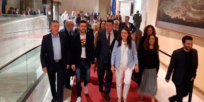 Constituidas las nuevas Cortes Valencianas