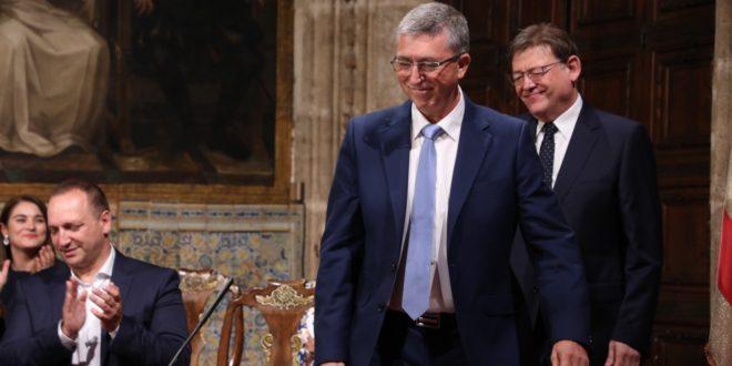 Rafael Climent sigue al frente de la Conselleria de Economía