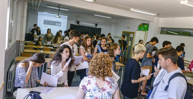 La comarca roza el 100% de aprobados en la convocatoria extraordinaria de Selectividad