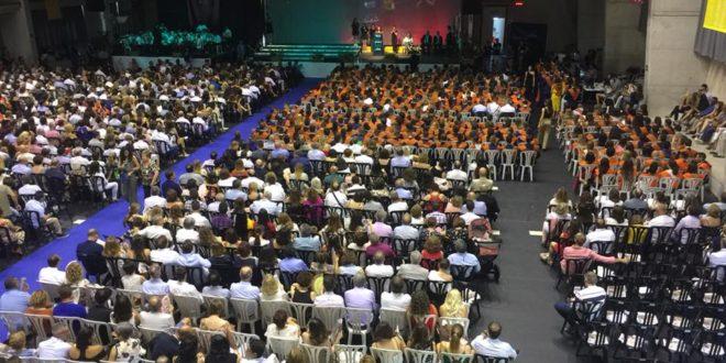 Multitudinaria graduación en el Campus de Alcoy de la UPV