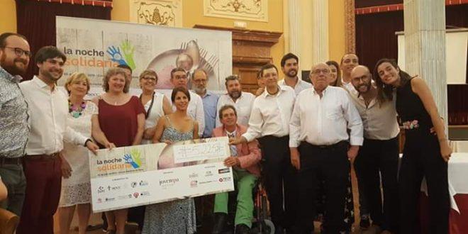 Jovempa celebró con éxito una nueva edición de su Noche Solidaria
