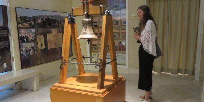 La campana de Barxell ya se exhibe en el Museo Arqueológico