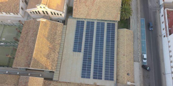 Nueva instalación fotovoltaica en un edificio municipal de Alcoy