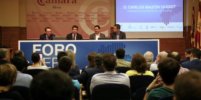 La Cámara de Comercio de Alcoy acoge el 'I Foro UEPAL'