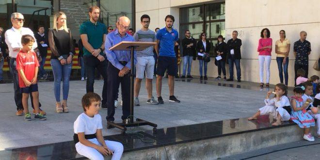 El CD Contestano leyó el manifiesto en Cocentaina