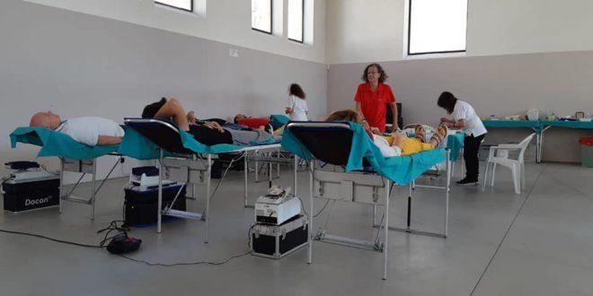 Gran acogida al Maratón de Donación de Sangre celebrado en Alcoy