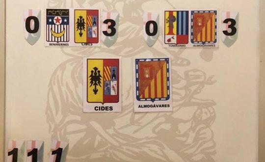 Almogávares y Cides van a la final del Campeonato de Cotos